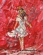 Lorna Millar (20th/21st Century) Ballerina acrylic on board