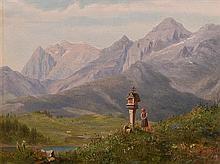 Carl Ludwig Brandt (1831-1905) Sierra Madre, Mexico