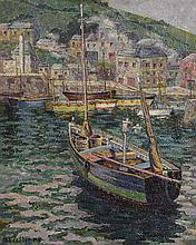 Gwladys Williams (20th/21st Century) Mevagissy Harbour, Cornwall