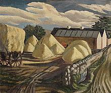 Eric Patton RHA (1925-2004) The Farmyard