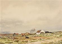 Frank Egginton RCA (1908-1990) Connemara Cottage