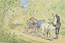 after Jack Butler Yeats RHA (1871-1957) The Songbirds