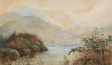 Alexander Williams RHA (1846-1930) A Corner Middle Lake, Killarney