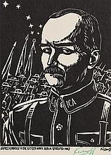 Harry Kernoff RHA (1900-1974) James Connolly and the Citizen Army, Dublin