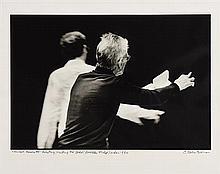 John Minihan (b.1946) Samuel Beckett Directing 'Waiting for Godot', Riverside Studios, London 1984