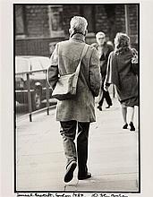 John Minihan (b.1946) Samuel Beckett, London 1984