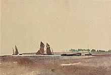 Samuel C. Taylor (1870-1944) Boats Concarneau, France