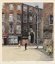 Flora Mitchell (1890-1973) In Lower Abbey Street