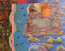 Stephen McKenna PPRHA (b.1939) Surreal Dream (1967-68)