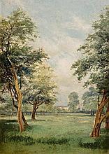 Alexander Williams RHA (1846-1930) Aras an Uachtarain, Phoenix Park, Dublin
