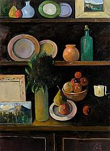 Peter Collis RHA (1929-2012) Still Life And Landscapes on the Dresser