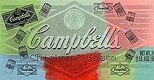 Steve Kaufman (b.1960) Campbells Soup