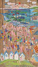 Fred Yeats (b.1922) British Peinture Sur Panneau, La Mere