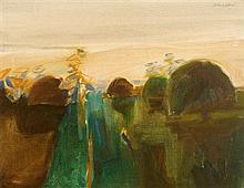 Basil Blackshaw HRHA RUA (b.1932) Park View