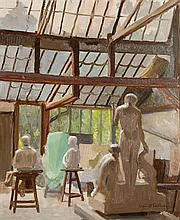 Sean O'Sullivan RHA (1906-1964) Paul Landowski's Studio, Paris