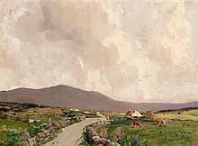 James Humbert Craig RHA RUA (1878-1944) Road to Maam Cross
