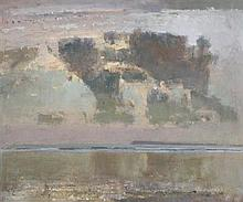 Fred Cuming RA (b.1930) British Winter Sea
