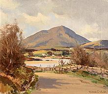 Maurice Canning Wilks ARHA RUA (1911-1984) Muckish Mountain, Creeslough, Co. Donegal