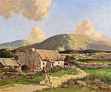 Maurice Canning Wilks ARHA RUA (1911-1984) Near Doochary, Co. Donegal