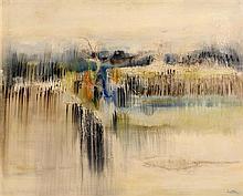 Richard Kingston RHA (1922-2003) Marsh Landscape (1965)