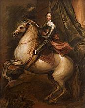 after Sir Anthony Van Dyck (1599-1641) Dutch Le Prince Thomas De Savoie Carignano