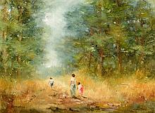 Elizabeth Brophy (20th/21st Century) The Forest Path