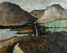 Peter Collis RHA (1929-2012) The Road to Letterfrack II