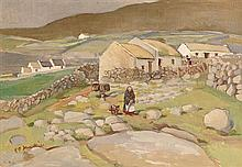 Kathleen Isabella Mackie (1889-1996) The Grey Walls, Bloody Foreland, Donegal (1959)