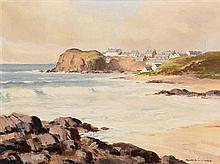 Maurice Canning Wilks ARHA RUA (1911-1984) Foreshore, Portrush