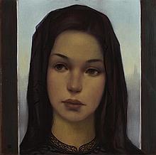 Ken Hamilton (b.1956) Girl at the Threshold