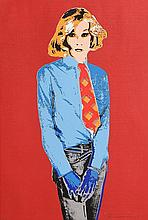 Andy Warhol (1928-1987) British Red, Blue and Black