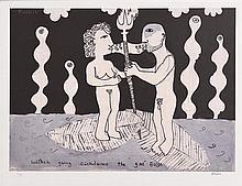 Martin Finnin (b.1968) CuChulainn and Scàthach