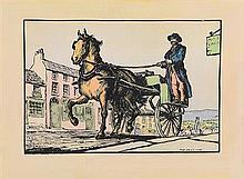 after Jack Butler Yeats RHA (1871-1957) The Postcar