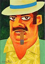 Graham Knuttel (b.1954) The Cuban Cigar