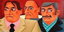 Graham Knuttel (b.1954) Three Amigos