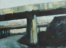 Mary Avril Gillan (20th/21st Century) Flyover (1995)