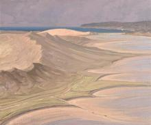 Jermiah Hoad (1924-1999) Sand Dunes, Dumhcha, Co. Donegal
