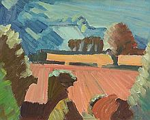 John Jobson (b.1941) Stubble From Little Sugarloaf (2007)