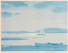 John Skelton Snr (1923-2009) Setting Sail