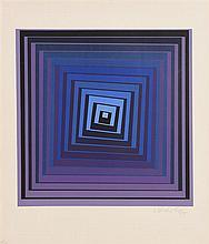 Victor Vasarely (1908-1997) Geometric Form