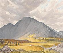 Rose Brigid Ganly (1909-2002) Connemara Mountain (1986)