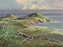 George Gillespie RUA (1924-1996) Donegal Landscape