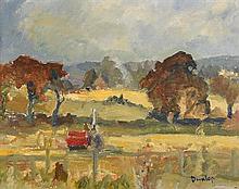 Ronald Ossory Dunlop RA RBA MEAC (1894-1975) Landscape