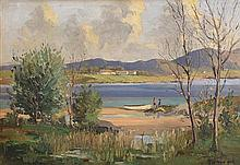 Rowland Hill ARUA (1915-1979) Lough Conn