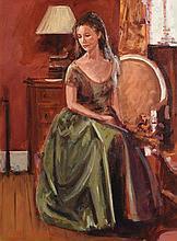 Rowland Davidson (b.1942) In Pensive Mood