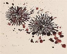Basil Ivan Rakoczi (1908-1979) Sea Urchins (1966)