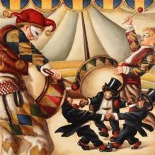 Edgar Barrios (b.1960) Peruvian Circus Series