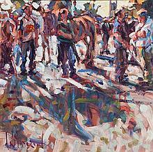 Arthur K. Maderson (b.1942) Tallow Horse Fair