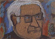 Tony O'Malley HRHA (1913-2003) Portrait of PF (1979)