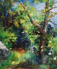 Kenneth Webb RWA FRSA RUA (b.1927) The Dell, Bel - Air